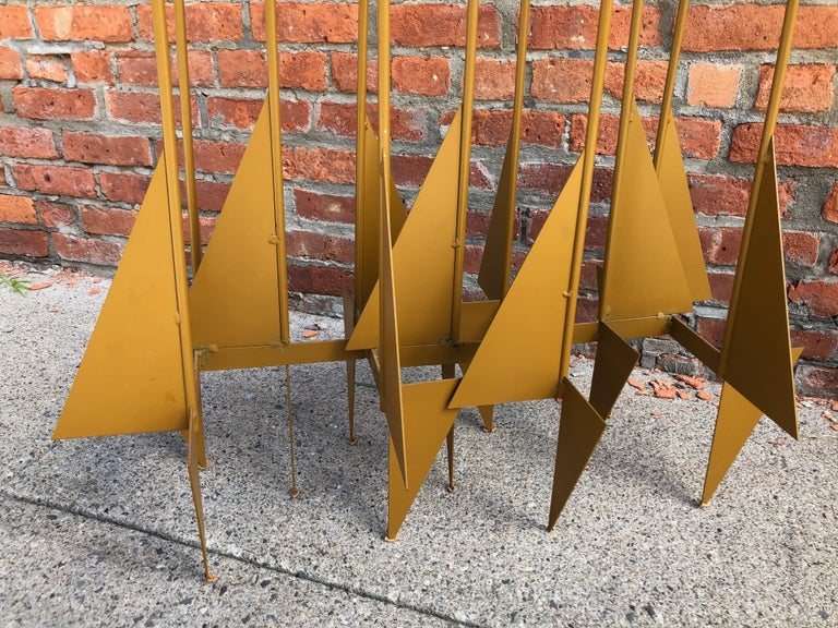 American Enormous Rare Modernist Candelabrum by Donald Drumm For Sale