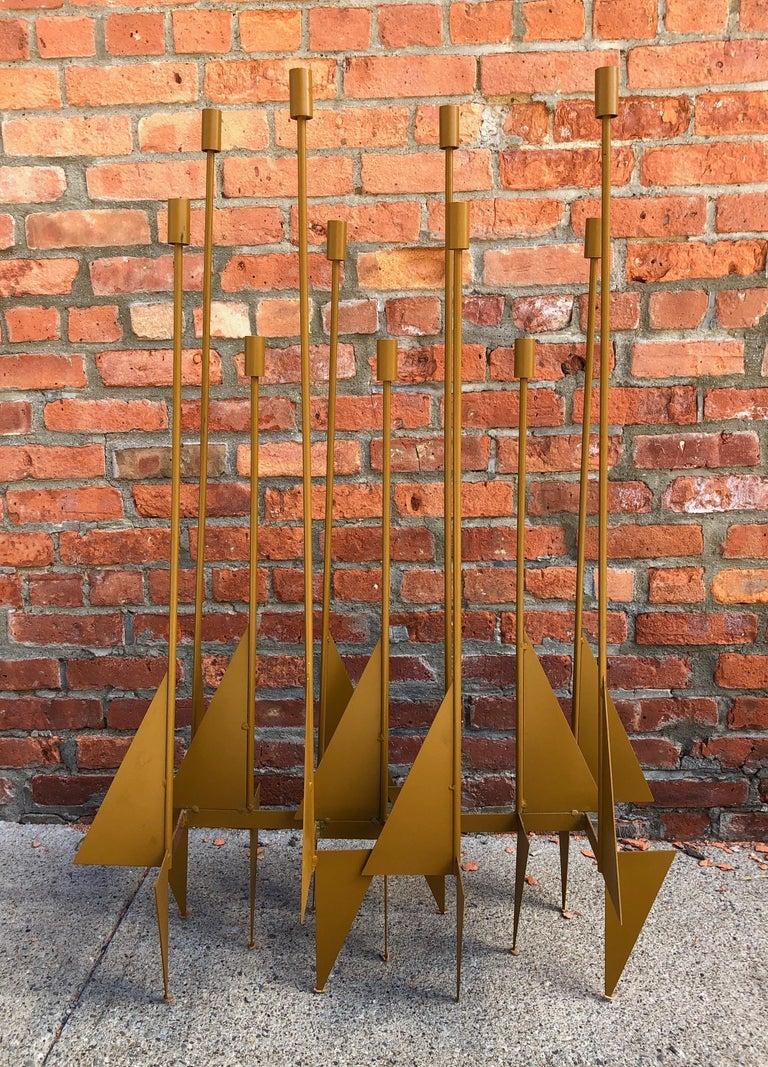 Enormous Rare Modernist Candelabrum by Donald Drumm For Sale 1