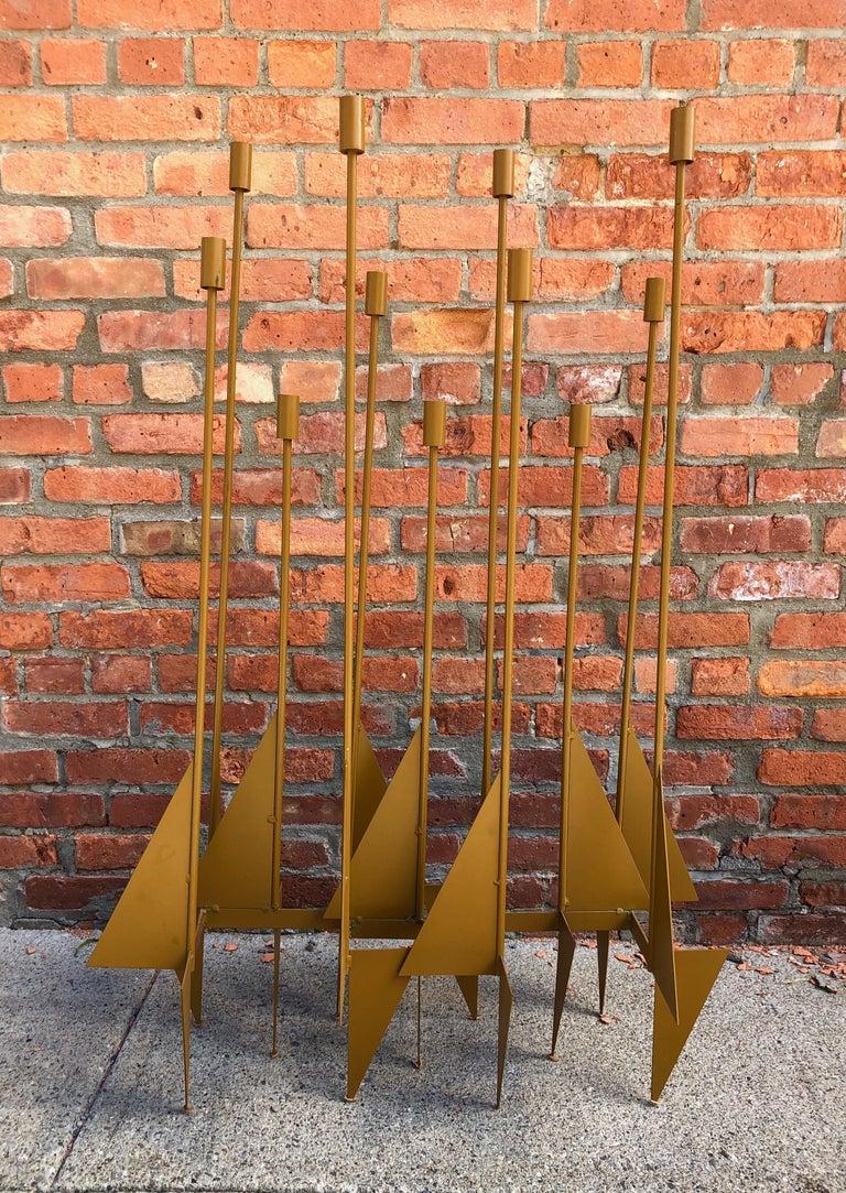Enormous Rare Modernist Candelabrum by Donald Drumm For Sale 2