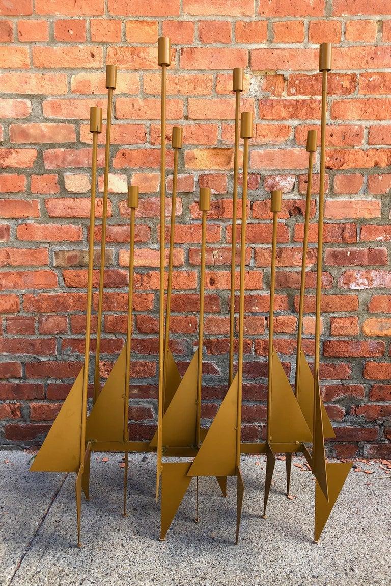 Enormous Rare Modernist Candelabrum by Donald Drumm For Sale 3