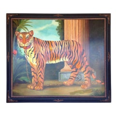 Enormous Painting of a Tiger by William Skilling
