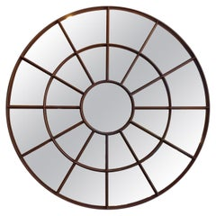 Enormous Round Mirror