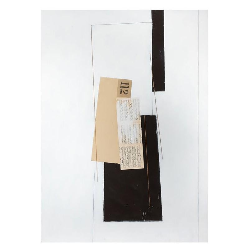 Enormous, Signed and Dated, 1977 Collage