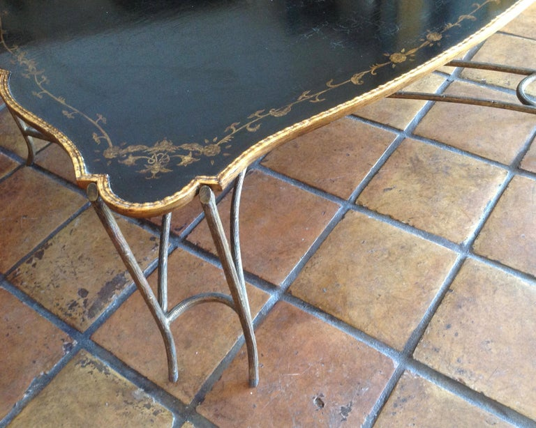 Enormous Tray Top Style Coffee Table For Sale 4