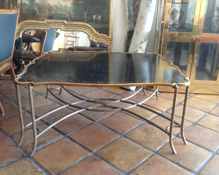 Enormous Tray Top Style Coffee Table For Sale 7