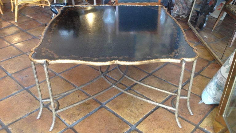 Enormous Tray Top Style Coffee Table For Sale 8