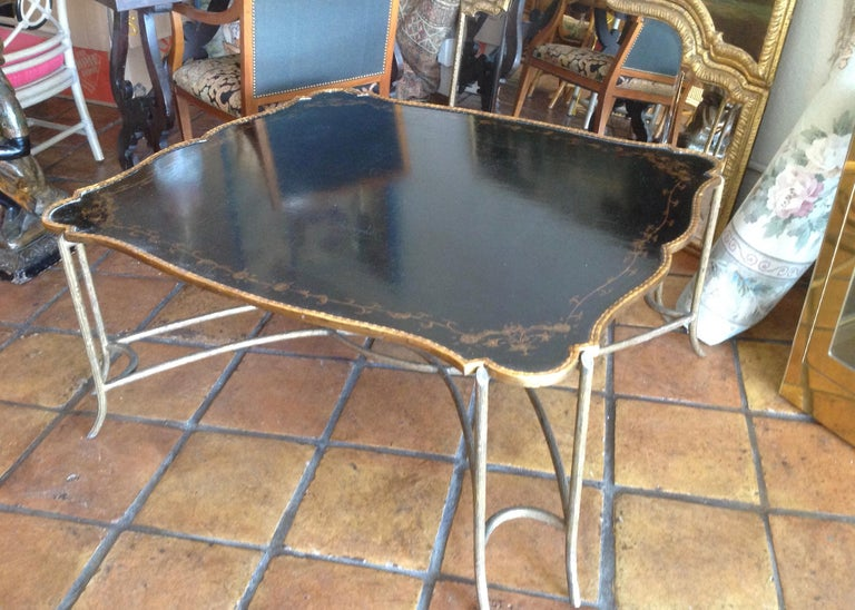 Enormous Tray Top Style Coffee Table For Sale 1