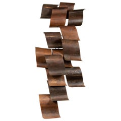 Enormous, Vintage, Abstract Wall Sculpture