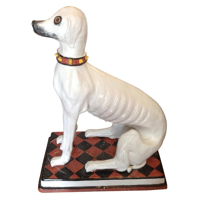 Enormous Whimsical Midcentury Statue of a Dog For Sale