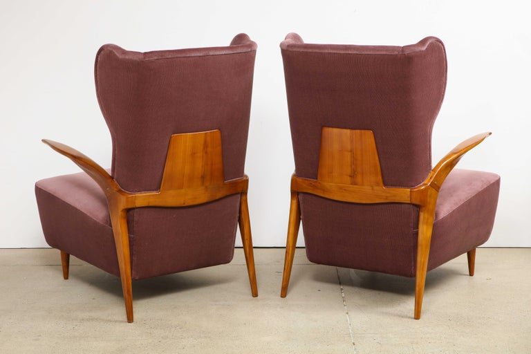 Enrico Ciuti Attributed Chairs In Good Condition For Sale In New York, NY