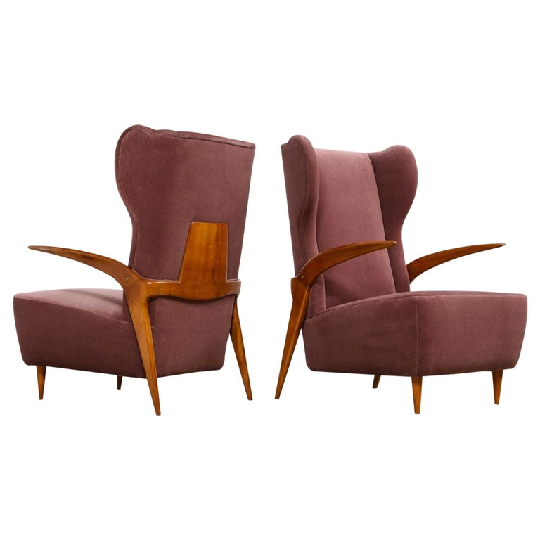 Enrico Ciuti Attributed Chairs For Sale