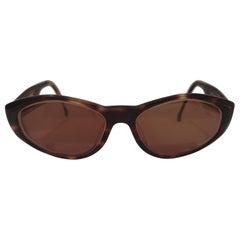 Enrico Coveri brown sunglasses