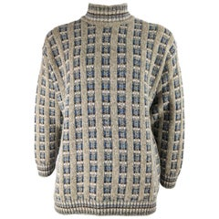Enrico Coveri Vintage Mens Alpaca Blend Sweater