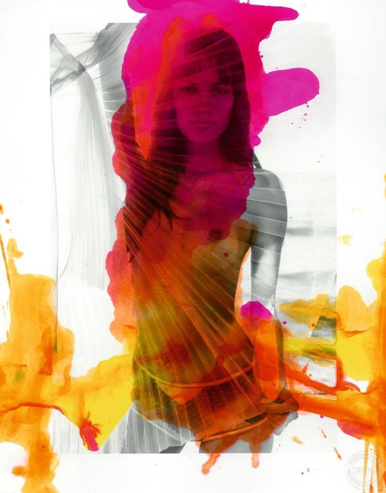 Enrique Badulescu Color Photograph - Abstract Nude