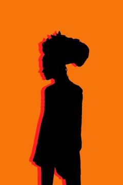 Orange Silhouette