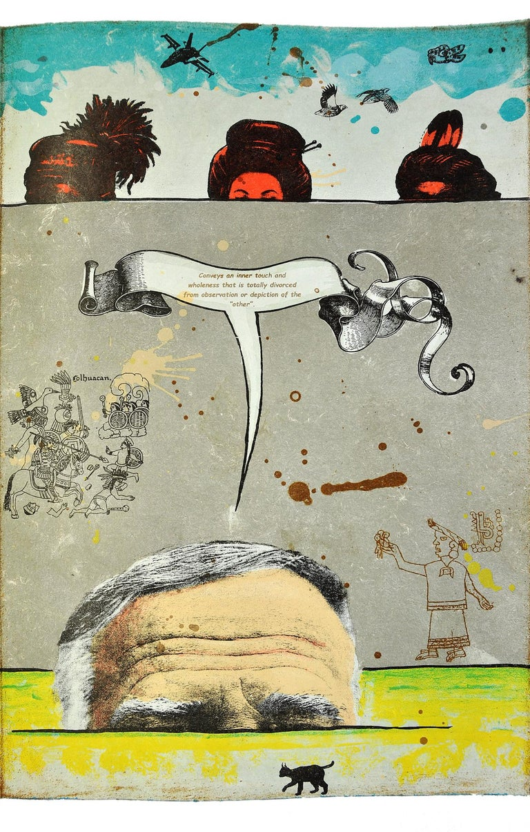 The Ghosts of Borderlandia - Print by Enrique Chagoya