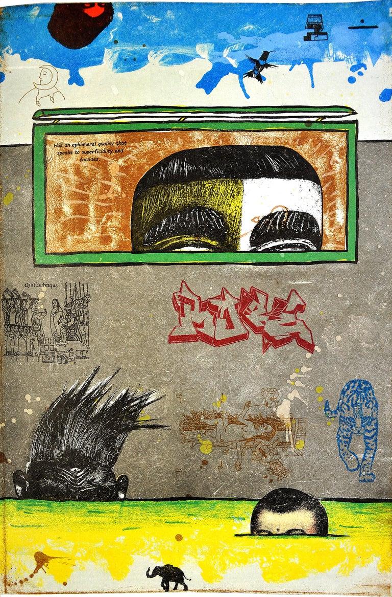 The Ghosts of Borderlandia - Contemporary Print by Enrique Chagoya