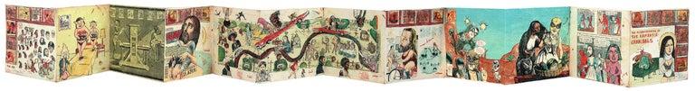 Enrique Chagoya Print - The Misadventures of the Romantic Cannibals
