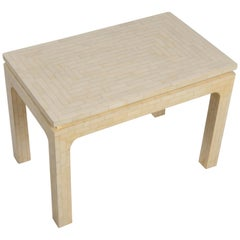 Enrique Garcel Cool Tesselated Bone Side Table