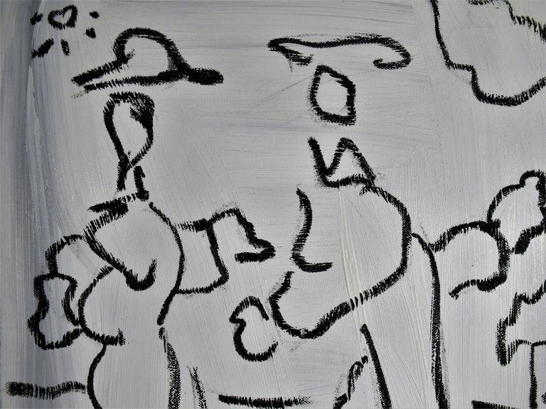 Janis way - Painting by Enrique Kico Govantes