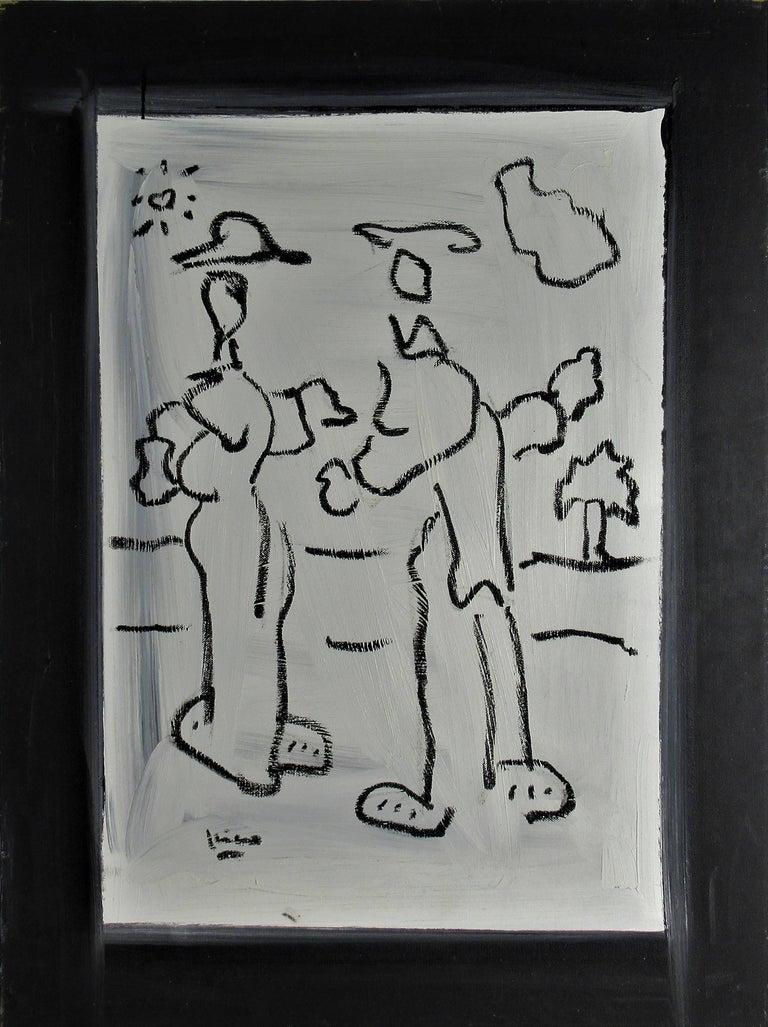 Enrique Kico Govantes Figurative Painting - Janis way