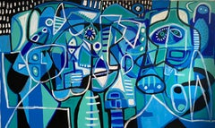 El Puerto, Contemporary Art, Abstract Painting, 21st Century