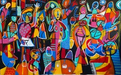 Huateque, Contemporary Art, Abstract Painting, 21st Century
