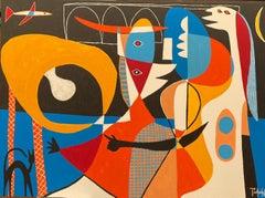 Escenas, Contemporary Art, Abstract Painting, 21st Century