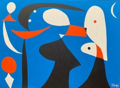 Sleepwalker, Contemporary Art, Abstract Painting, 21st Century