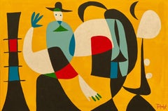 Tango, Contemporary Art, Abstract Painting, 21st Century