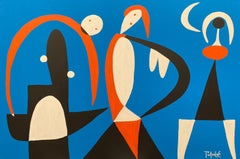 Tres Mujeres, Contemporary Art, Abstract Painting, 21st Century