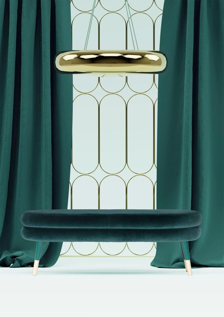 Portuguese Ensemble of Marshmallow Ceiling Lamps, Royal Stranger For Sale