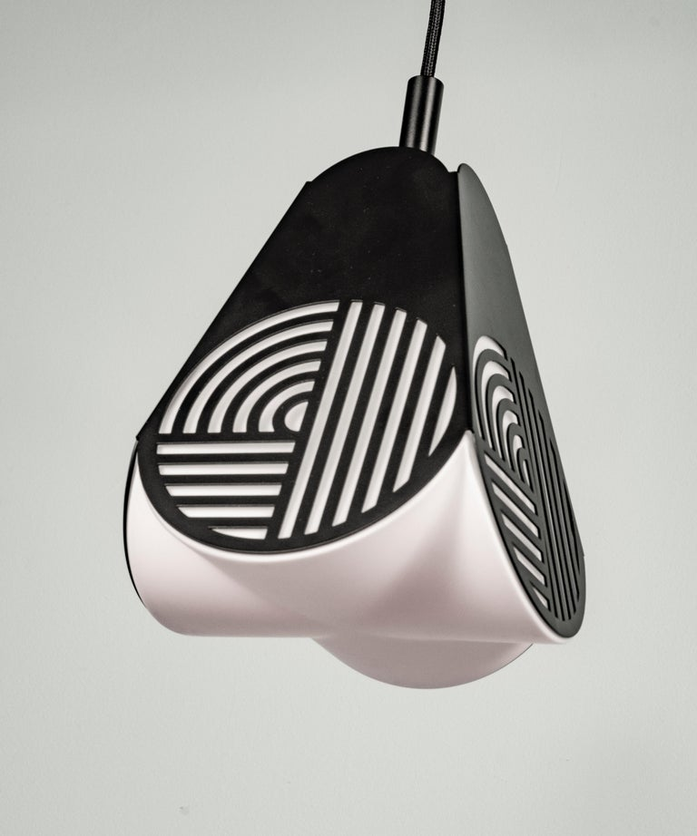 Ensemble of Notic Pendant Lamps by Bower Studio In New Condition For Sale In Geneve, CH