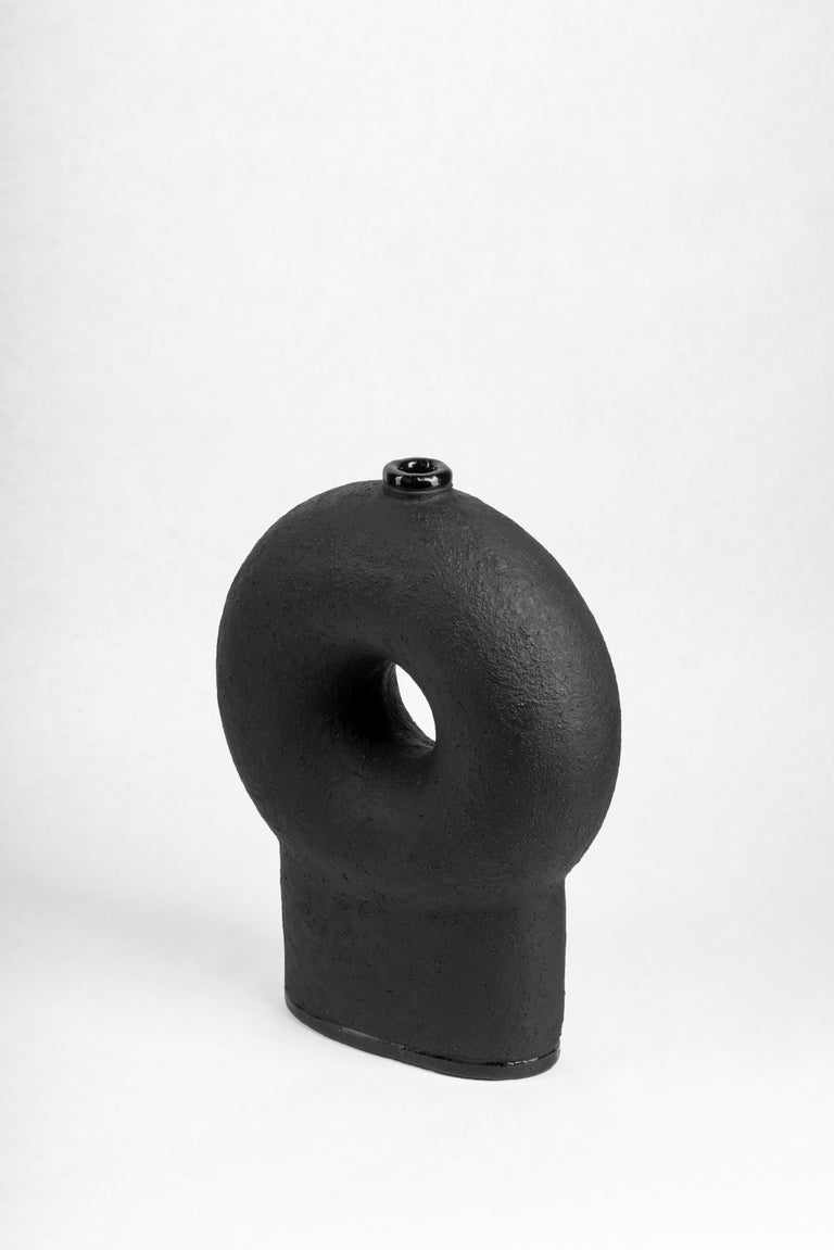 Ensemble of Sculpted Ceramic Vases by Victoria Yakusha For Sale 4