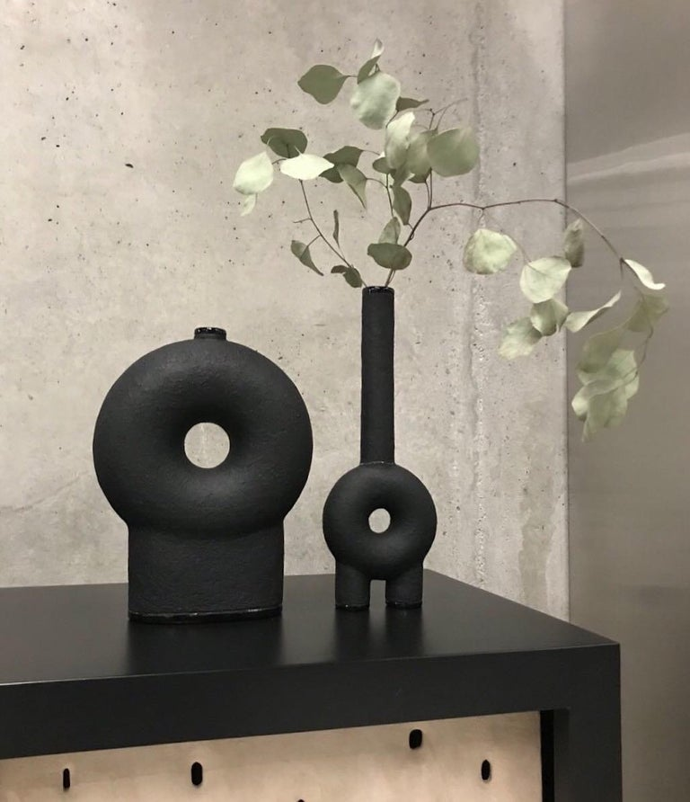 Ensemble of Sculpted Ceramic Vases by Victoria Yakusha In New Condition For Sale In Collonge Bellerive, Geneve, CH