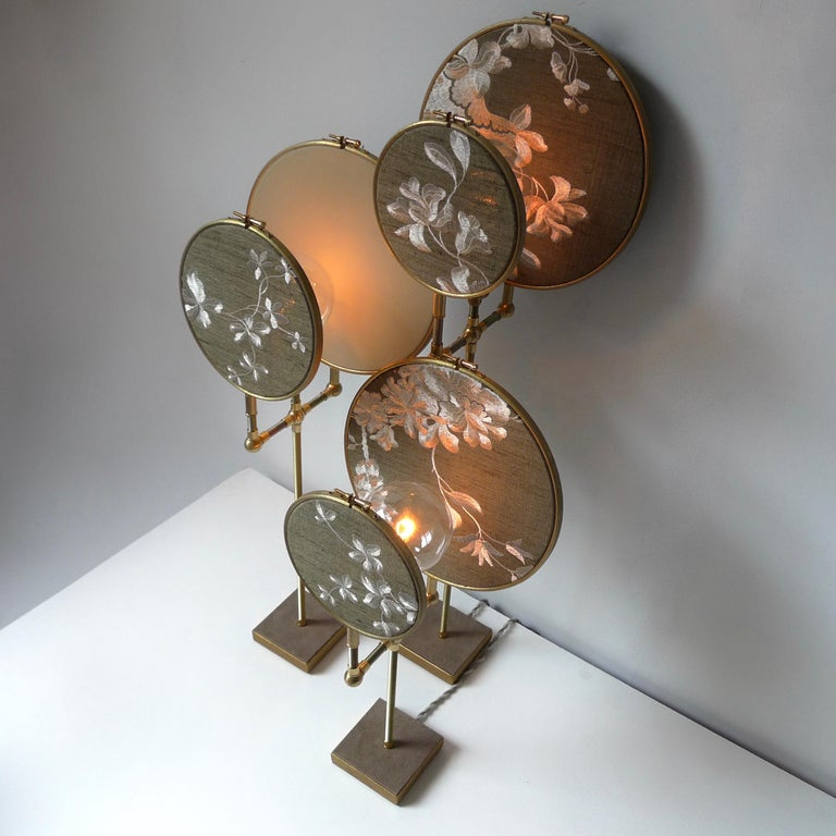 Ensemble of Three Table Lamps, Sander Bottinga In New Condition For Sale In Collonge Bellerive, Geneve, CH