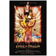 """Enter the Dragon"" R1997 U.S. One Sheet Film Poster"