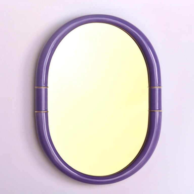 Organic Modern ENTLER Ceramic Mirror For Sale