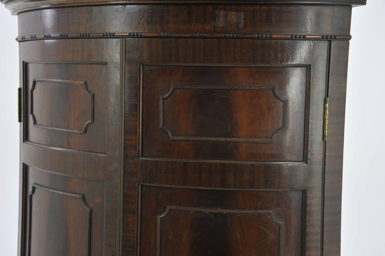 Foyer Corner Cabinet : Entryway organizer corner cupboard china cabinet