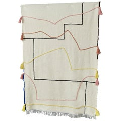 Entwine Hand Knotted Wool Plaid by Maria Jeglinska, Limited Edition