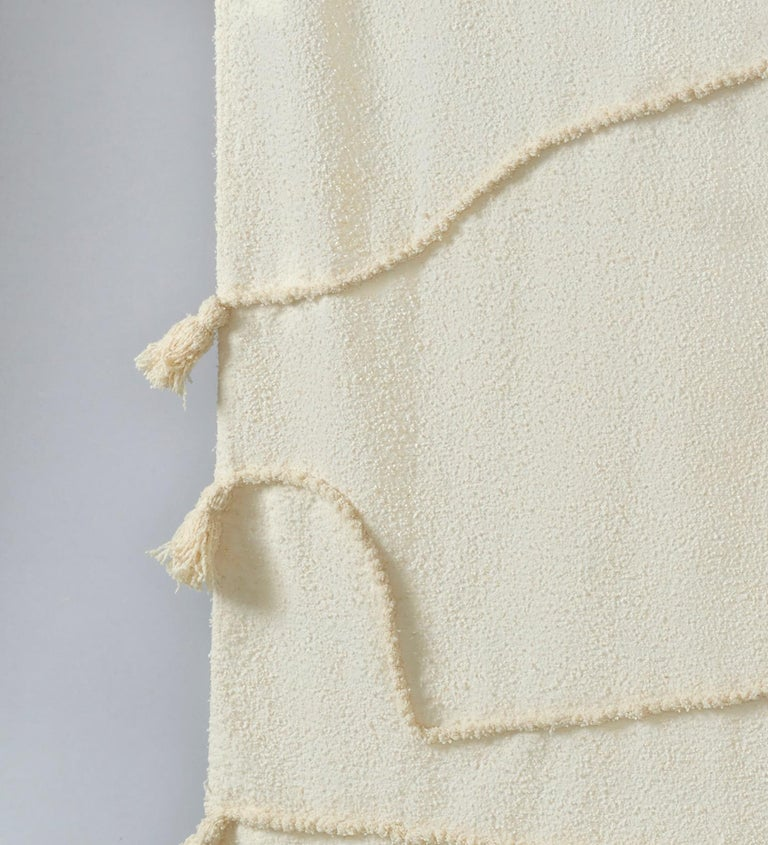 ENTWINE Moroccan Hand Knotted Wool Plaid by Maria Jeglinska In New Condition For Sale In Paris, FR