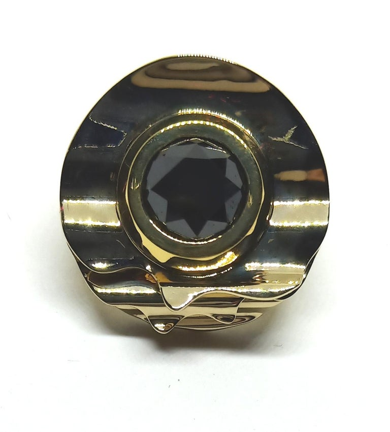 Envious Eyes will Roll with Contemporary One of a Kind Black Diamond Earrings In New Condition For Sale In NEW DELHI, IN