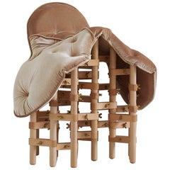 Envisioned Comfort Series Saddle Chair by Marija Puipaitė and Vytautas Gečas