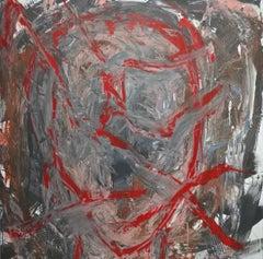 """""""Senza Narrazione - 3 """" by Enzio Wenk, 2019 - Acrylic Enamel on Canvas"""