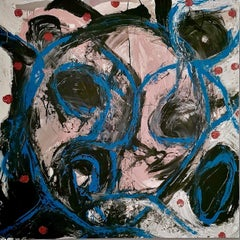 """""""Senza Narrazione - 4 """" by Enzio Wenk, 2019 - Acrylic Enamel on Canvas"""