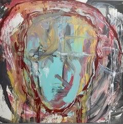"""""""Senza Narrazione - 5 """" by Enzio Wenk, 2019 - Acrylic Enamel on Canvas"""
