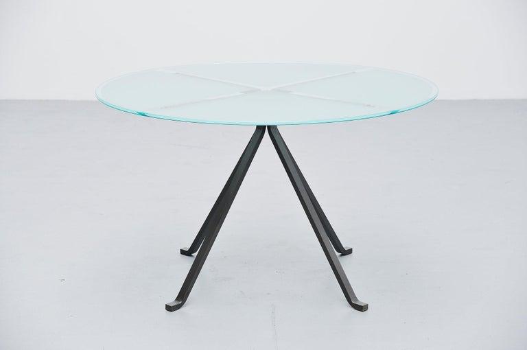 Mid-Century Modern Enzo Mari Cugino Dining Table Driade, Italy, 1973 For Sale