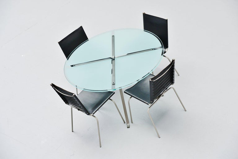 Enzo Mari Cugino Dining Table Driade, Italy, 1973 For Sale 1