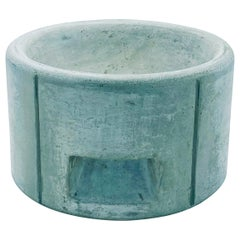 Enzo Mari for Danese Milano Cement Centerpiece, or Bowl, Italy, 1960s