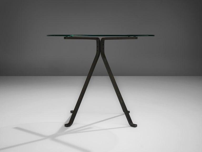 Italian Enzo Mari for Driade 'Cuginetto' Coffee Table For Sale